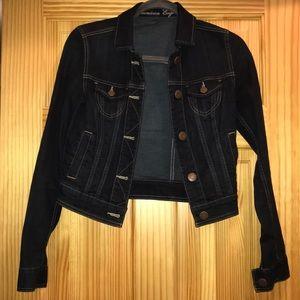 American Eagle: Dark Denim Jacket